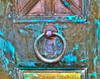 Copper Door and Pull