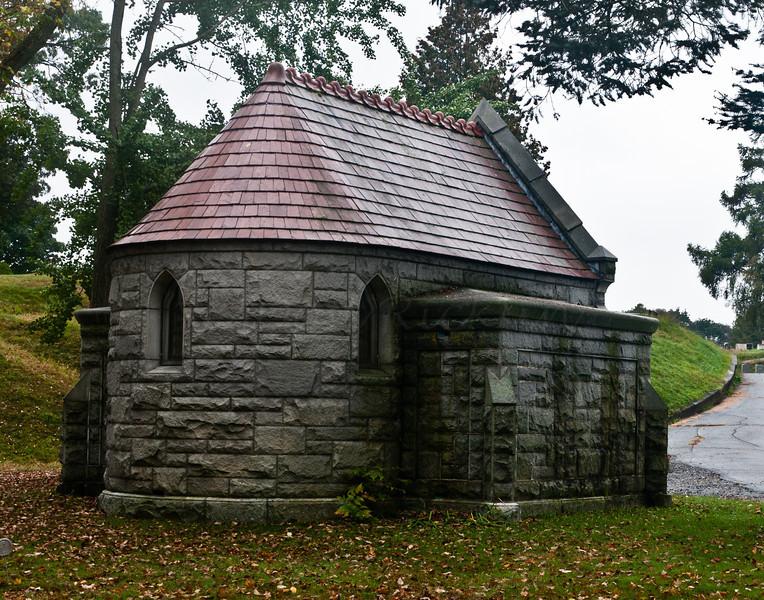 Back of Mausoleum
