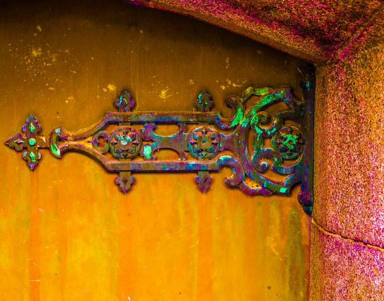 Crypt Door Hinge