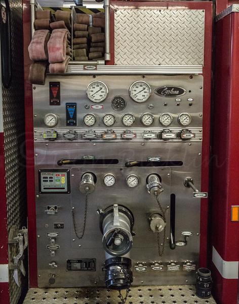 Pumper Control Panel