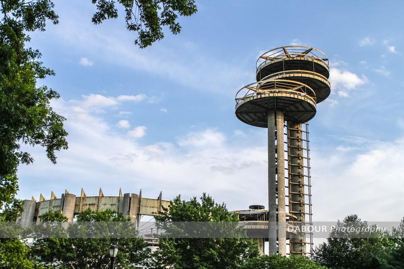 Unisphere photo walk with Rick Sammon at Corona Park, NY. Pavilion
