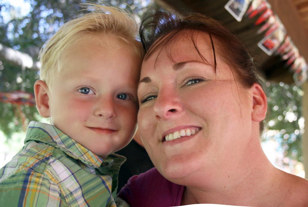 Baby Wyatt and Momma Wendy 2