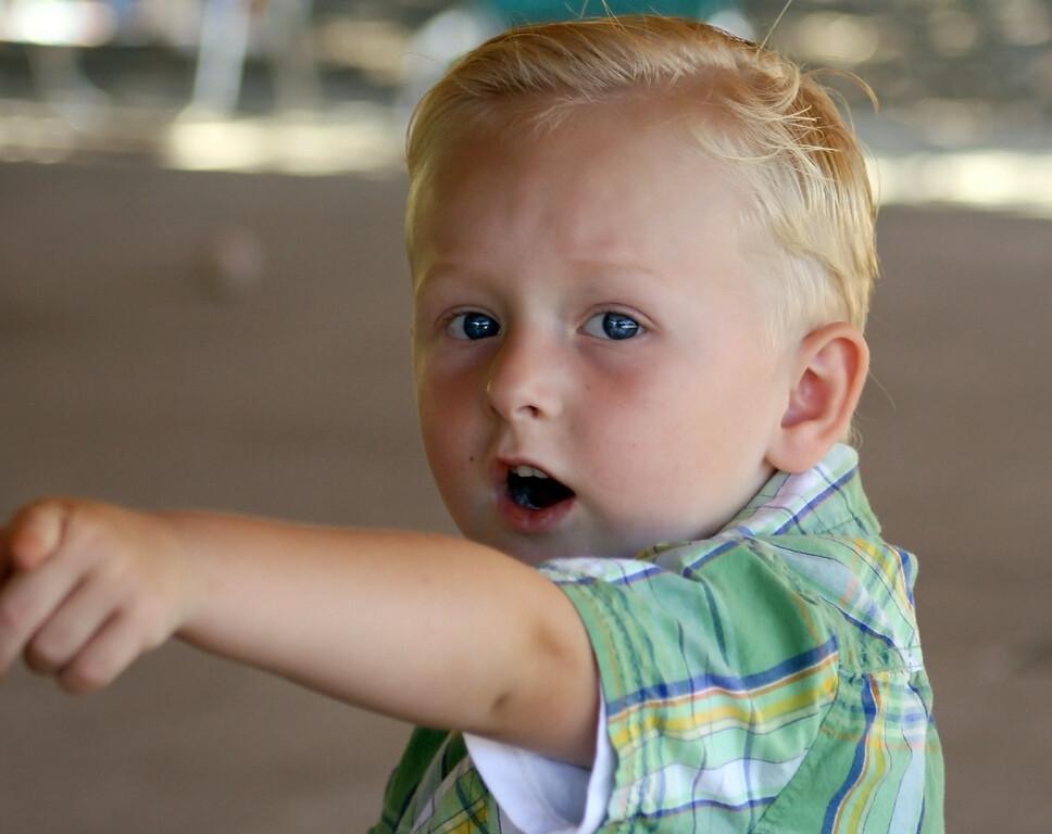 Birthday boy Wyatt 2