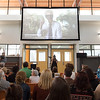 Attendees gathered in the Grand Rapids Public Museum School to watch a livestream of the XQ Big Reveal event, which announced the Museum School as the winner of one of ten $10 million grant awards.