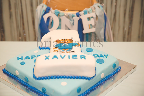 Xavier 1st Bday