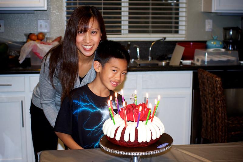 December birthdays:<br /> Aiden - Dec 11th <br /> Nancy - Dec 23rd