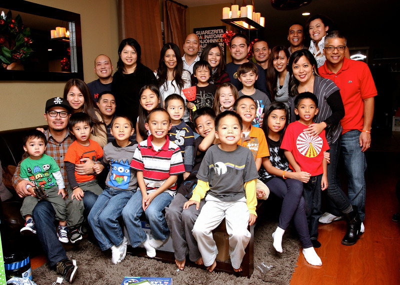 The REGs 2011 Xmas Party - hosted by the Suarez family (Dec. 18th - Simi Valley, CA)