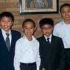 The boys getting ready their Pueri Cantore (choir) concert @ CKS Church
