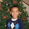 Jared's Xmas pic for his teacher