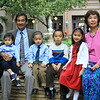 The Maranan kids with Papa and Grandma