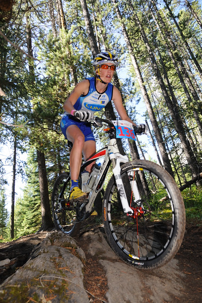 """XTERA Alberta was a magical race day!""  Danelle Kabush, 2010 Canmore Top Female."