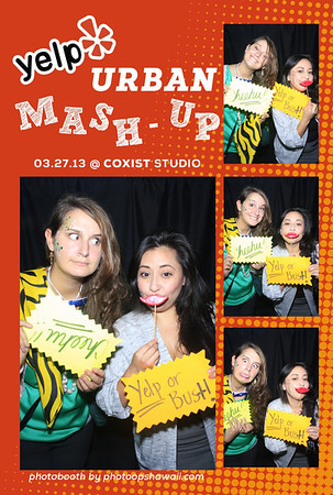 YELP Urban Mash-Up (Photo Booth)