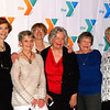 Debbie Blank | The Herald-Tribune<br /> Twenty-fifth anniversary party guests (from left) Darlene Origer, Batesville; Jeanne Obermeyer and Kathy Wagner, Oldenburg; Ellen Davis, Mary Lou Werner, Joyce Gannon, Vi Grossman and Linda Cone, Batesville, pose for a photo.