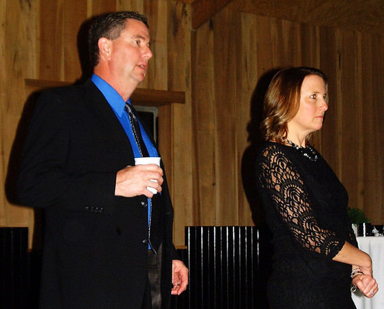 Debbie Blank | The Herald-Tribune<br /> Two longtime Y employees recently got married. Ted Harmeyer is the chief financial officer and Angie Harmeyer is the executive director.