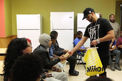 YMCA Newark Holiday giveaway
