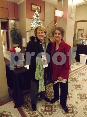 Jeanett Balint and Sharon Lee.