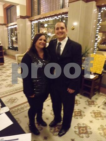 Sarah Traeger and Kyle Nodarse.