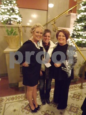 Ashley Mlodzik, Kelly Orres and Kim Mlodzik.