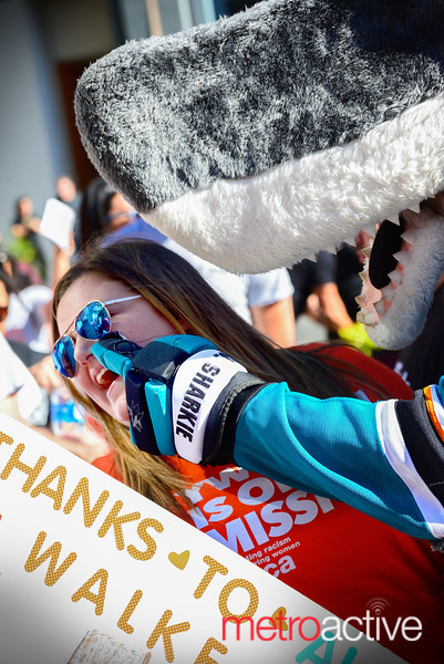 SJ Sharkie onsite to help with hygiene