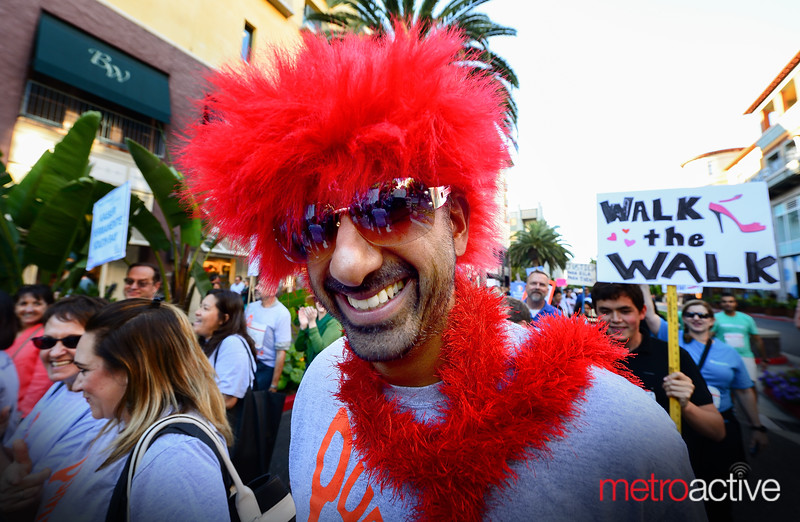 PHOTOS: Walk A Mile Event - Santana Row