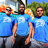 Members of SJSU Football team came out to support the cause