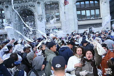 The New York Yankees' parade Friday Nov 6, 2009