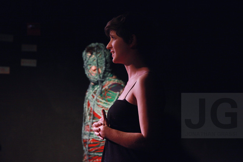 'Yarn and You' performance by Julia Havard and Patrick Quinn