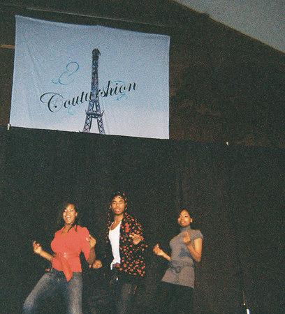Mini-skit on stage