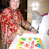 My sister Joanne brought me a birthday cake<br /> Jan. 27, 2012