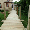 Partially finished ramp
