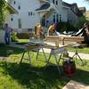Preparing work site