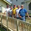 Rick, Roger, Bill, Larry, Dwaine; not pictured: Wes & BillMc