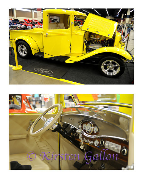 YELLOW ROSE CAR SHOW 2013<br /> 1932 FORD PICKUP