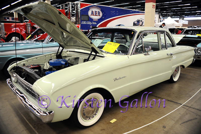 YELLOW ROSE CAR SHOW 2013<br /> 1960 Ford Falcon