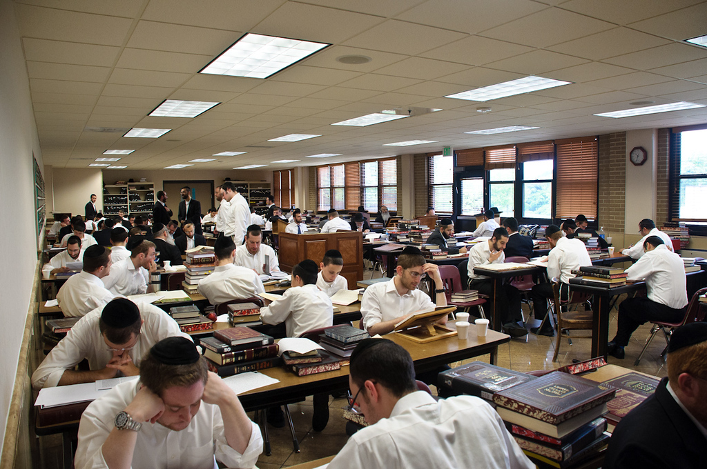 The Kollel moved into the Friedman (Plan) Bais Medrash