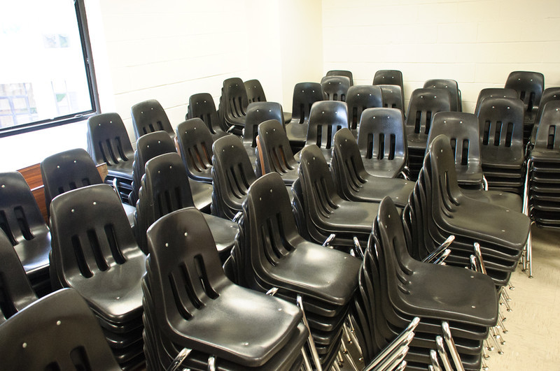 That's a lot of chairs