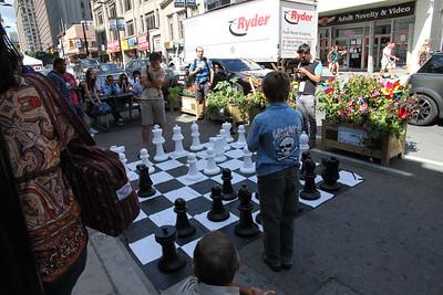 Yonge Street Pedestrian Mall Experiment - August 2012