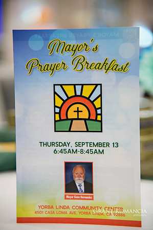Yorba Linda Mayors Prayer Breakfast 2018