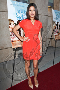 "HOLLYWOOD, CA - JUNE 11:  Actress Julia Jones arrives at the Los Angeles premiere of ""Your Sister's Sister"" at ArcLight Cinemas on June 11, 2012 in Hollywood, California.  (Photo by Chelsea Lauren/FilmMagic)"