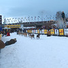 Credit: FCVB<br /> <br /> A musher and team of dogs start out on the Chena River in downtown Fairbanks during the 2006 Yukon Quest International Sled Dog Race.