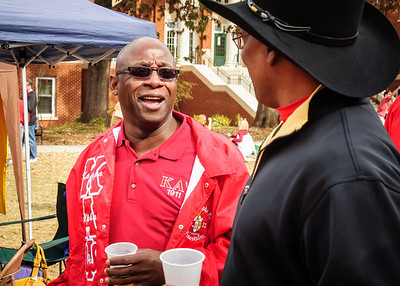 Al Lawrence & Horace King at ZI Tailgate Party - UGA Homecoming 2013