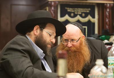 Zalmy and Dabrusha Bronstein Shevah Brochos in Chabad of Flatbush