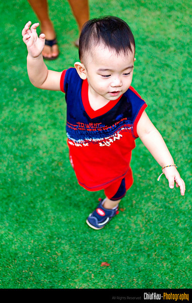 and he started to dance on the field. :)
