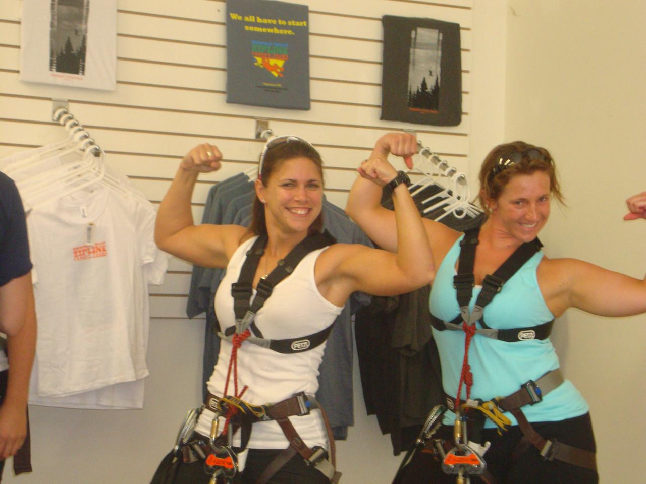 Look at those guns!