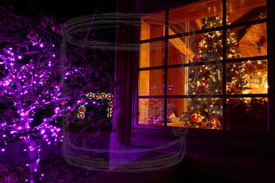 Gift shop, Purple Flurp, and Poinsettia Arch