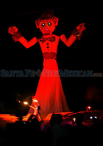 87th annual Zozobra at Fort Marcy Park on Thursday, September 9, 2010.  Photos by Jane Phillips/The New Mexican