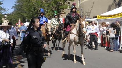 Video clip of the Fiesta Entrada
