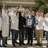 "Guinness World Record Broken at Bellagio : Vegas Uncork'd Ceremony at Bellagio Vegas Casino sets Guinness World Record for uncorked wine bottles 308 chefs uncorking their wine bottle in 30 seconds as timed by Michael Empric (716) 480-0420 of Guinness World Records Adjudicator on hand from New York City http://www.guinnessworldrecords.com/   Photographs by Mark Bowers.  For personal use only with Credit  ""Mark Bowers with ReallyVegasPhoto.com"""