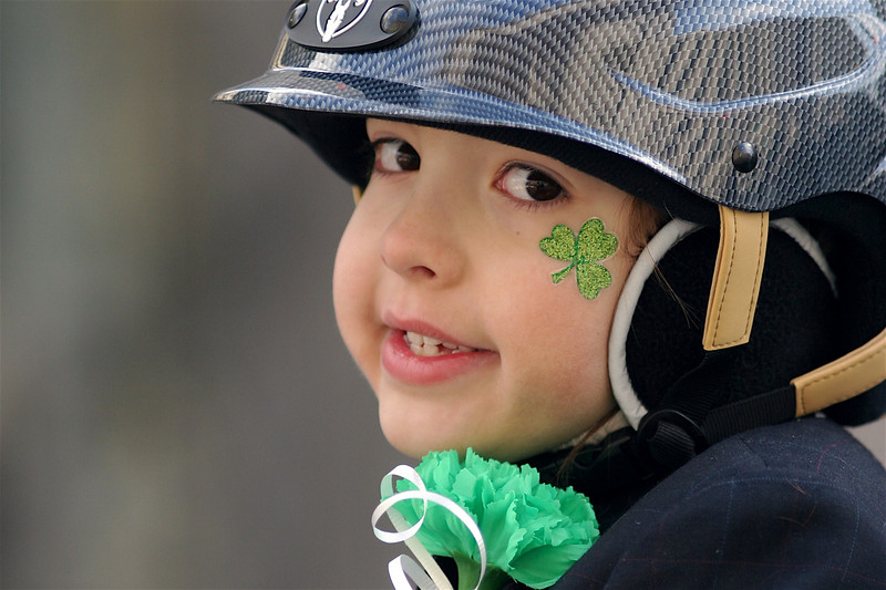 2007 New York St. Patrick's Day Parade, 5th avenue at 83rd street.