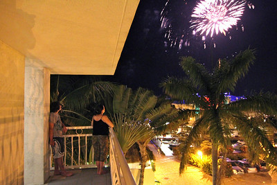 Key Largo Fireworks, 2010